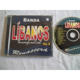 * Cd - Banda Libano - Renascerá - Gospel