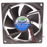 10 Micro Ventilador 80x80x25 Fan Cooler 12v  0 17a Mini 80mm