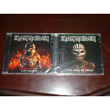 2 Cds Duplos Iron Maiden The Book Of Souls Live Live Chapte