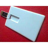 20 Pecas Pen Drive Cart�o Liso Pen Card Card 8gb