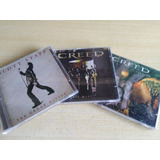 3 Cd s Scott Stapp & Creed
