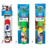 3 Escovas Elétrica Infantil Disney Oral B Stages Power