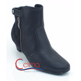 320172 Bota ankle Boot Piccadilly Com Camur�a