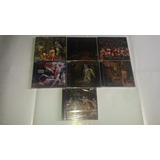7 Cds Lacrados: Cannibal Corpse Vile bleeding gore Obsessed