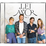 A Lei Do Amor Vol  1   Trilha Sonora Da Novela   Cd Original