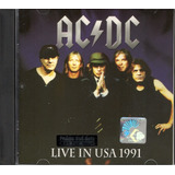 Ac dc Live In Usa 1991 Cd  ex   ex    malaysia  Cd Import
