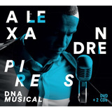 Alexandre Pires   Dna Musical   Dvd   2 Cds   Digipack