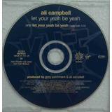 Ali Campbell Cd Single Import Usado Promo Let Your Yeah Be Y