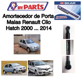 Amortecedor De Porta Mala  Renault Clio Hatch 2000 At� 2014