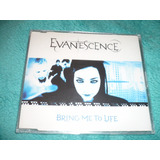 Amy Lee Evanescence Bring Me To Life Cd Single Lacrado Uk