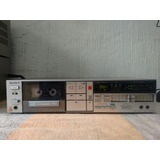 Antigo Tape Deck Sony Tc fx510rbs   Funcionando