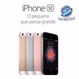 Apple Iphone Se 32gb 4g Anatel Nota Fiscal Capa E Pelicula