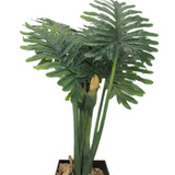 Árvore Costela De Adão Artificial 105cm Parec Planta Natural