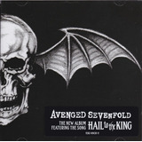 Avenged Sevenfold Hail To The King Cd Novo E Lacrado