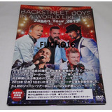 Backstreet Boys   Dvd Duplo In A World Like This Japan Tour