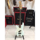 Baixo Canhoto Squier Precision Bass C  Case   Riff Music