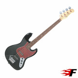Baixo Jay Turser Jtb 402 Jazz Bass Black Estilo Jazz Bass
