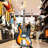 Baixo Michael Bm675 4c Passivo Jazz Bass Sunburst Black