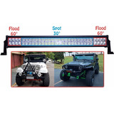 Barra Led Farol Milha 60 Leds 180w 17 000lm 12 30v Off road