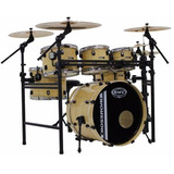 Bateria  Rmv Road Up Rack 3 Tons Surdo 14 Bumbo 22 Natural