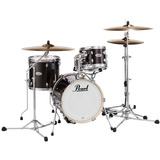 Bateria Pearl Midtown Series Black Gold Sparkle Com Bumbo 16