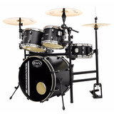 Bateria Rmv Cross Road Practical Com Rack  Preta   Nfe