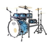 Bateria Road Up Com Rack Azul Pbr22656   Rmv