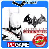 Batman: Arkham City Goty Edition Steam Cd key Global