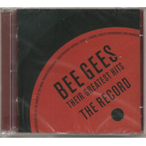 Bee Gees   Their Greatest Hits The Record   Cd Duplo Lacrado