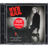 Billy Idol Cd Kings & Queens Of The Underground Novo Lacrado