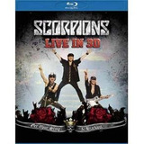 Blu ray Scorpions Get Your Sting & Blackout Live In 3d Lacr