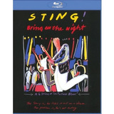 Blu ray Sting   Bring On The Night  Novo  Lacrado