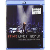 Blu ray Sting Live In Berlin  import  Novo Lacrado