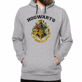 Blusa Moleton Com Capuz Hogwarts School Harry Potter