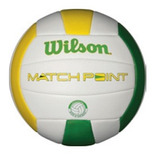 Bola De V�lei Match Point Original   Wilson�  Verde amarela
