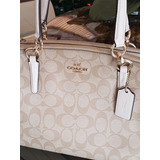 46bd81d21 Bolsa Coach Monograma Caqui Com Original | Loja do Som - Shopping ...