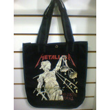 Bolsa Metallica    and Justice For All Brim 100% Algod�o