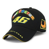 Bon� Original Valentino Rossi Vr46 Preto The Doctor