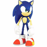Boneco Sonic The Hedgehog Deluxe Collectors Jazwarez 25cm