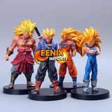 Bonecos Dragon Ball Kit Dragon Ball Coleções   Super Brinde