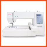 Bordadeira Eletronica Janome Mc 400e  Cd Bordados Brinde