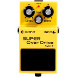 Boss Sd 1 Super Overdrive   Pedal De Distorção   Gtia  1 Ano