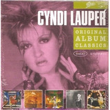 Box Cd Cyndi Lauper   Original Album Classics   Novo