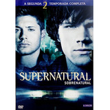 Box Cole��o Supernatural: 2� Temporada  6 Dvds  Frete Gr�tis