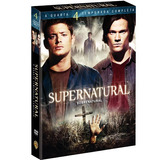 Box Dvd Cole��o Supernatural  4� Temp Compl 6 Dvds  Original