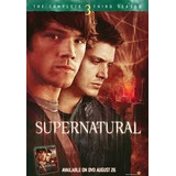 Box Dvd Cole��o Supernatural: 3� Temporada  5 Dvds  original