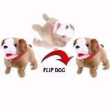 Cachorrinho Pelucia Puppy Anda Late E Da Cambalhotas   Co018
