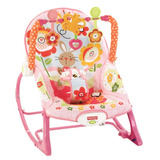 Cadeira Musical Fisher price P  Beb�s E Crian�as   Rosa