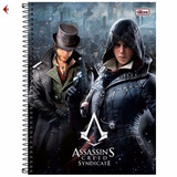 Caderno Cd Assassin s Creed Syndicate 10x1materia Tilibra