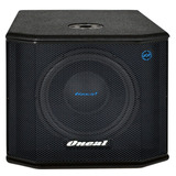 Caixa Subwoofer Ativo Grave Oneal Opsb 2112   200 Watts Rms